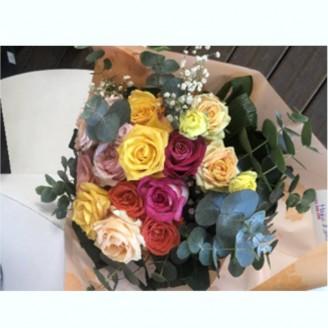 Bouquet chaleureux